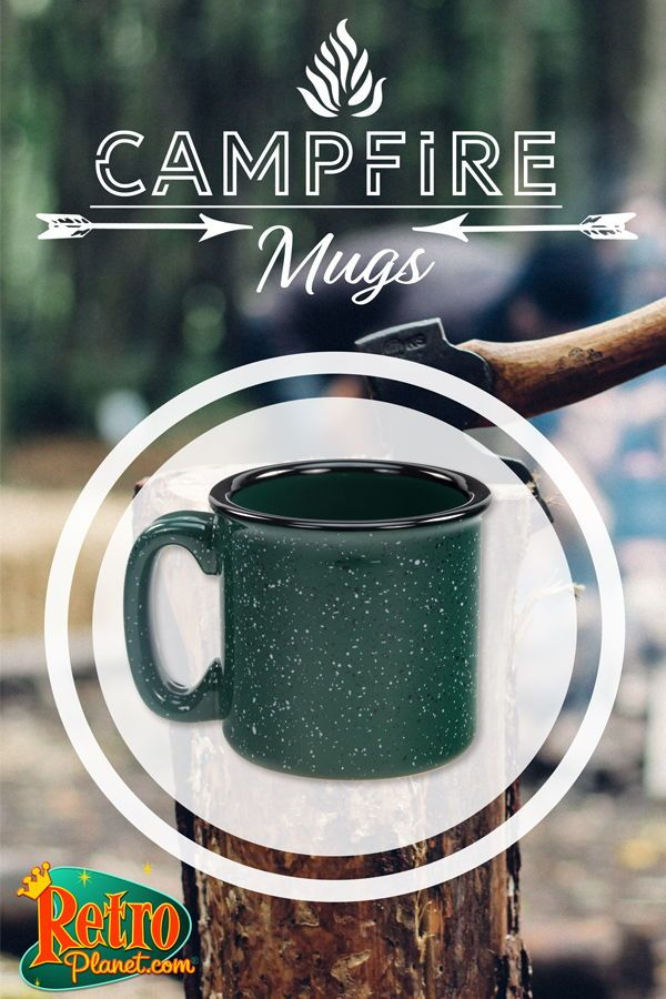 Our Ceramic Campfire Mugs Hold A Hearty 12 Ounces Of Coffee