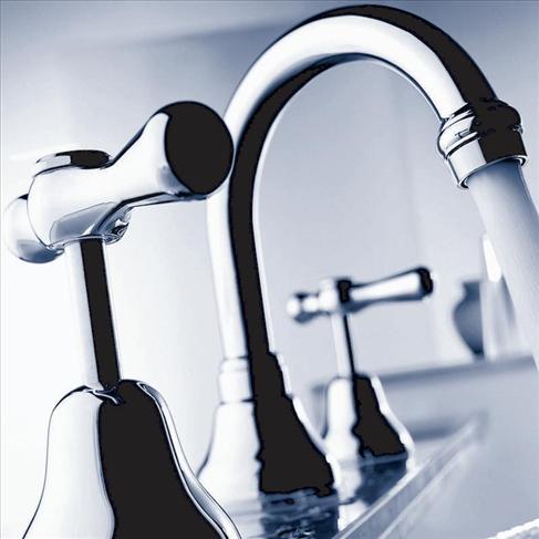 Dorf El Toro Basin Outlet White Chrome Tapware Bathroom Mixer Taps Bathroom Tapware
