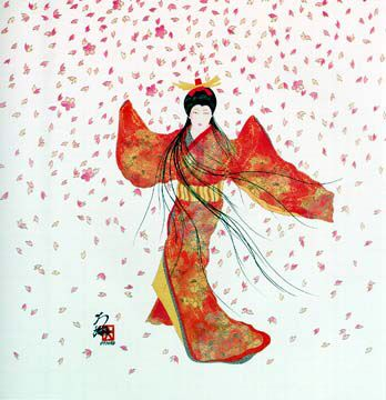 Image from http://www.hisashiotsuka.com/images/oth_lady_floating_blossoms.jpg.