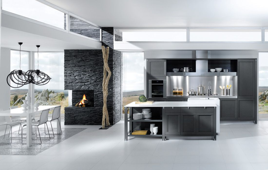Best Grey And White Kitchen » French Kitchen Designs From 400 x 300