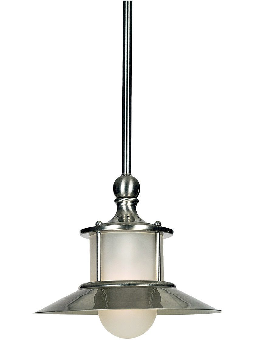 New England Pendant In Brushed Nickel
