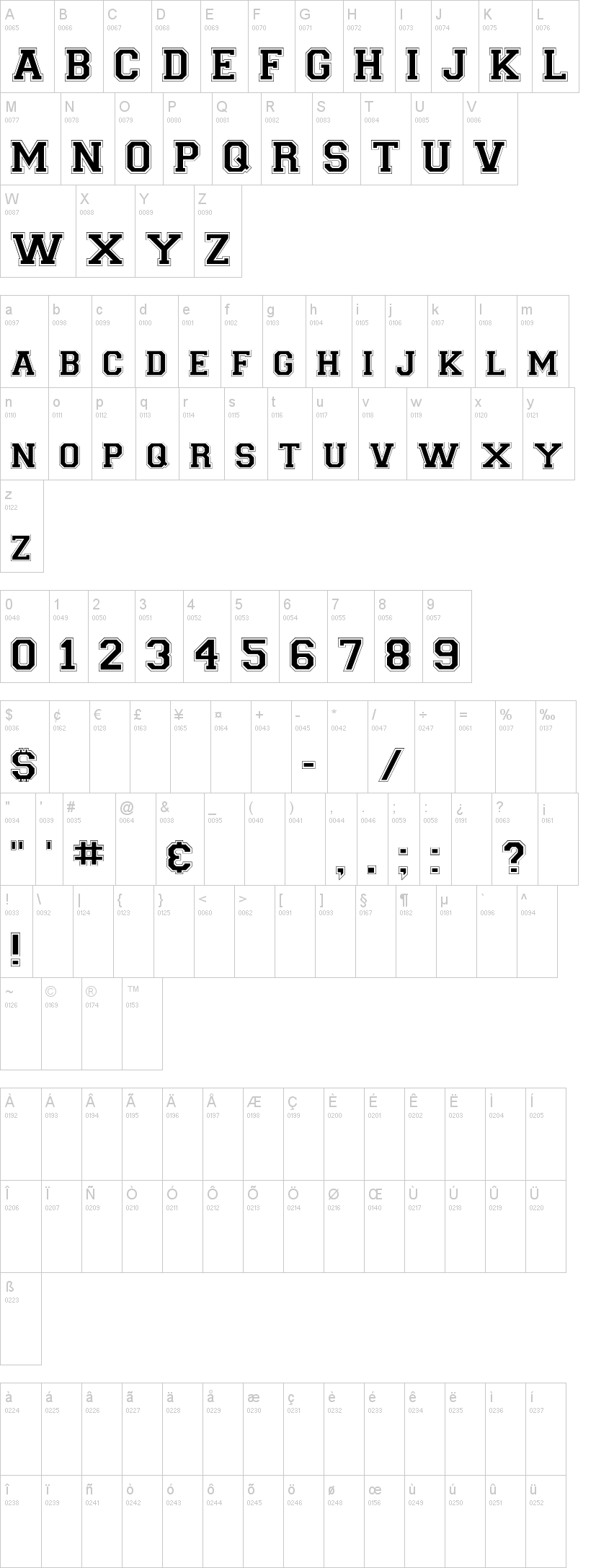Download Collegiate FLF Font   dafont.com   beatiful fonts ...