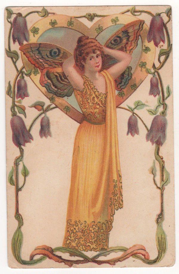 vintage postcard   Art, Fantasy art, Fairy original