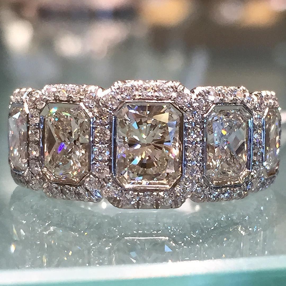 ae66efef7b2 Stunning diamond wedding band by JB Star.