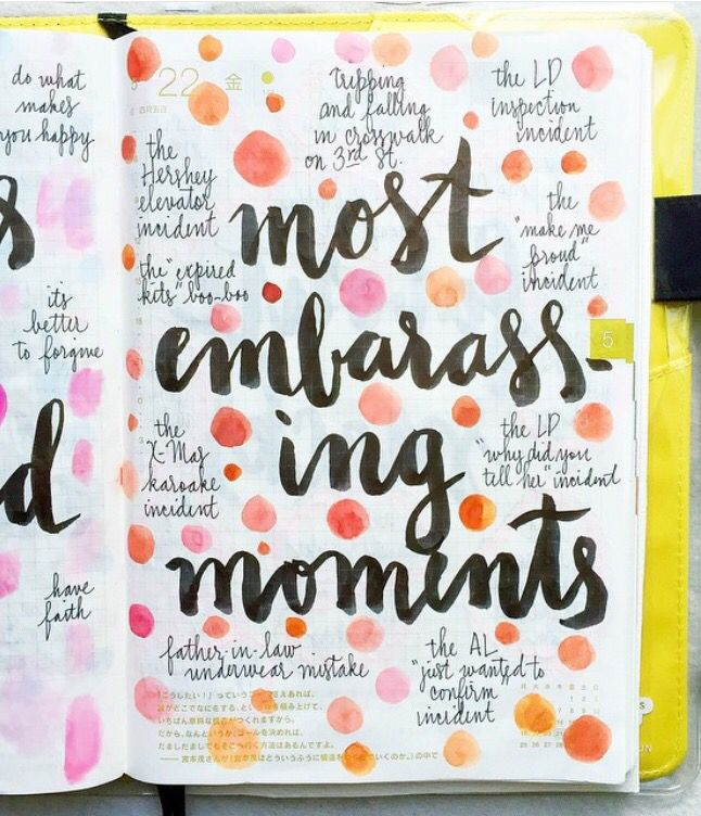 006 Most Embarrassing Moments Collection Journal Life Lit