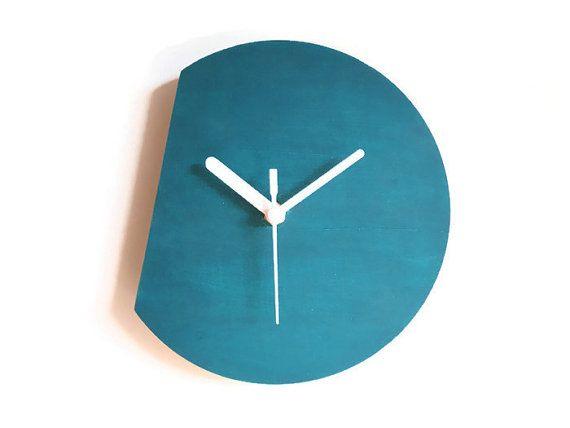 Laser Cut Wood Clock,modern Wall Clock,silent Clock,wall Clock Modern,
