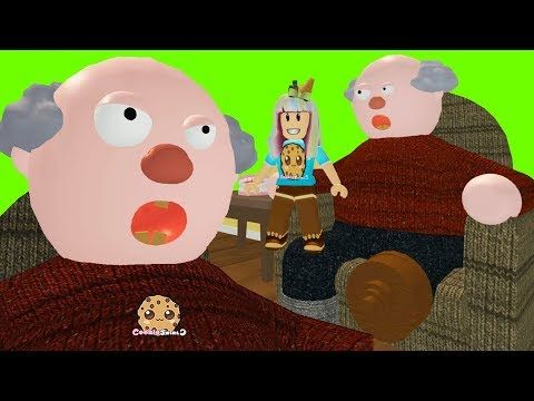 My Grandpa Roblox Obby Lets Play Video Games With Cookie - escape candyland obby roblox lets play