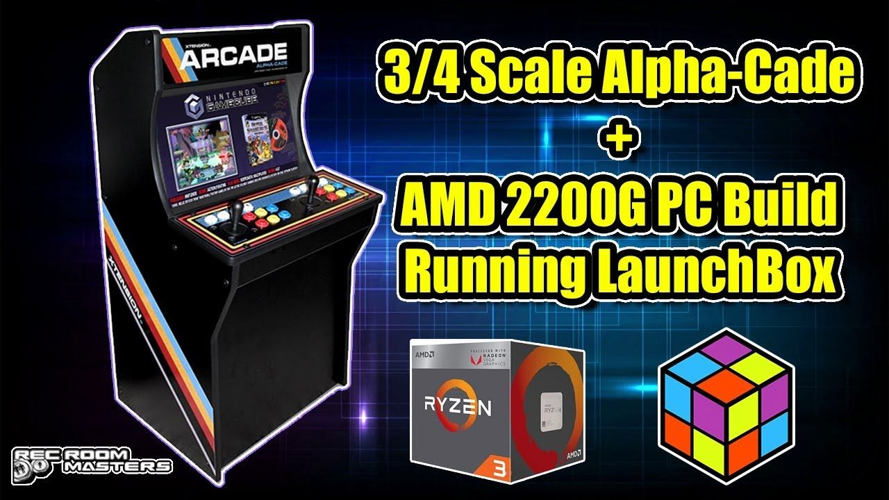 3/4 Scale Alpha-Cade Running LaunchBox / Big Box 2200G