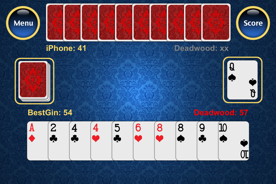Best Gin Rummy Gin rummy card game, Gin rummy, Best gin