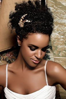wedding hairstyles for kinky curly hair - Google Search   Wedding ...