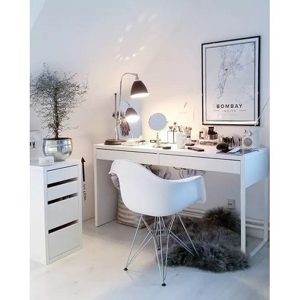 80 Ikeasouthafrica Ikea Micke Desks And Drawer Units Have A Clean And Simple Look That Fits Just About Anywhere Available In Stoc Home Decor Home Room Decor