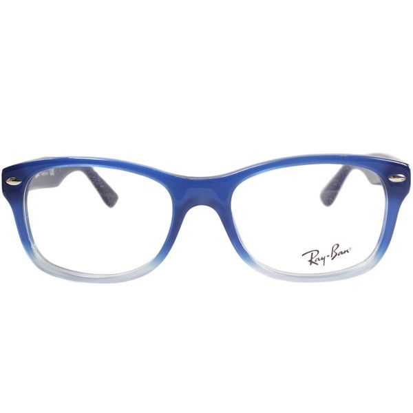 3da3393117 Ray-Ban Junior RY 1528 3581 Square Plastic Eyeglasses-48mm ( 76) ❤ liked on  Polyvore featuring accessories