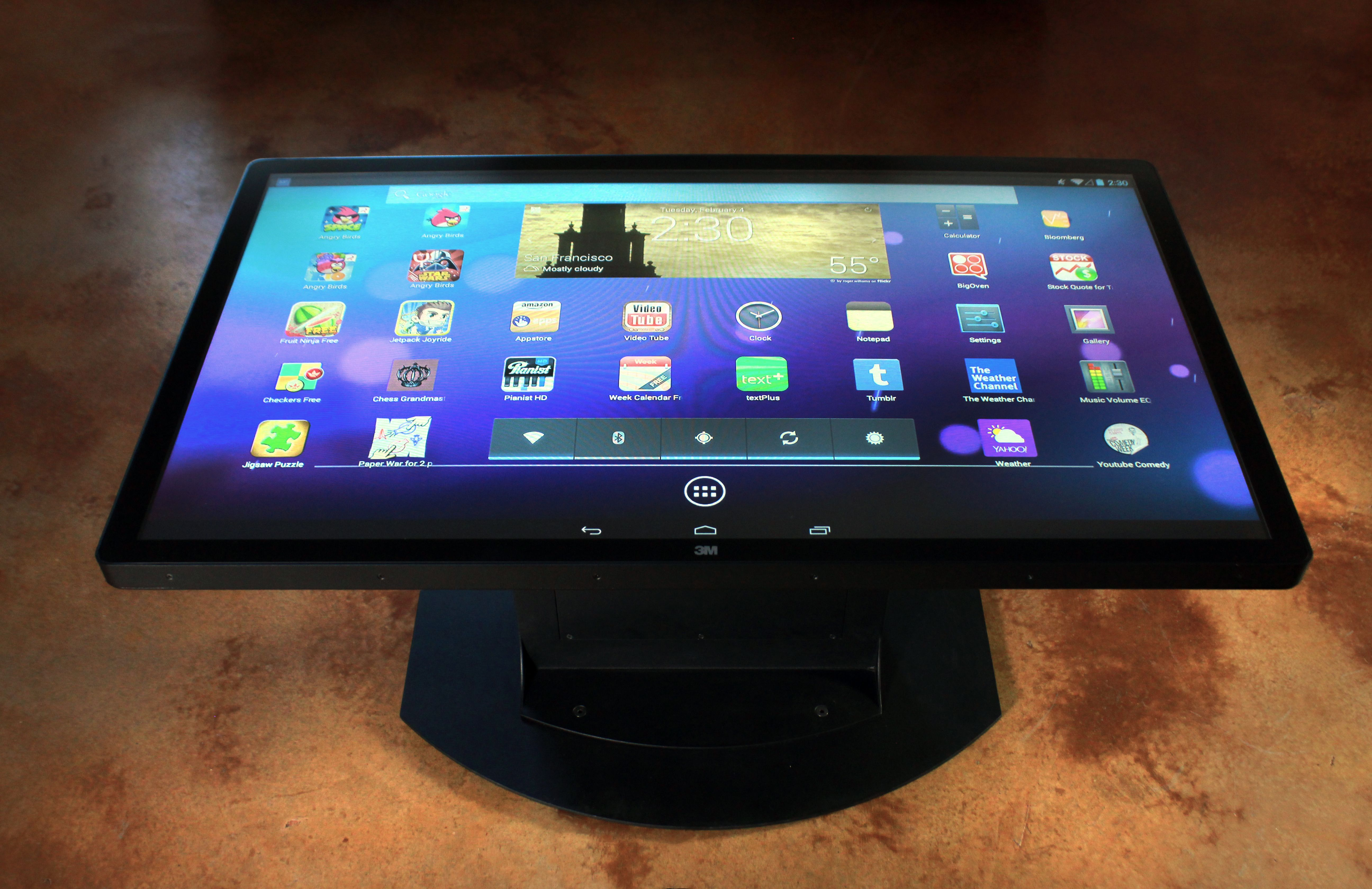 Pin by Ideum on Our Multitouch Products Table, Android