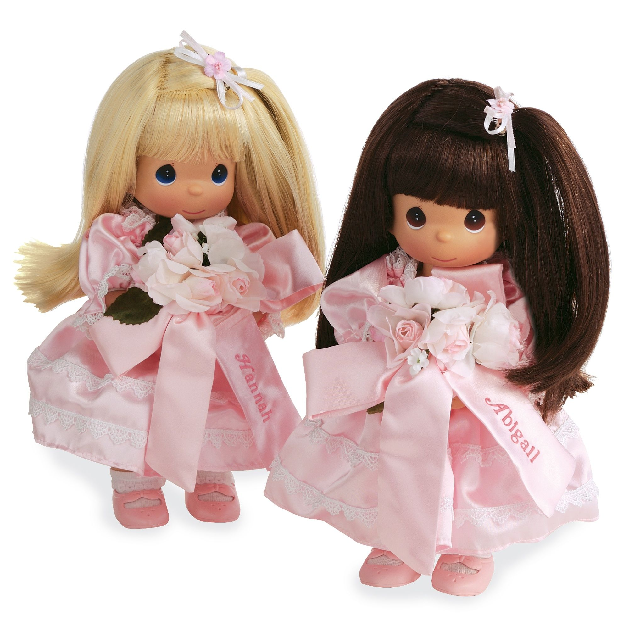 Precious Moments' Flower Girl Doll exclusivelyweddings