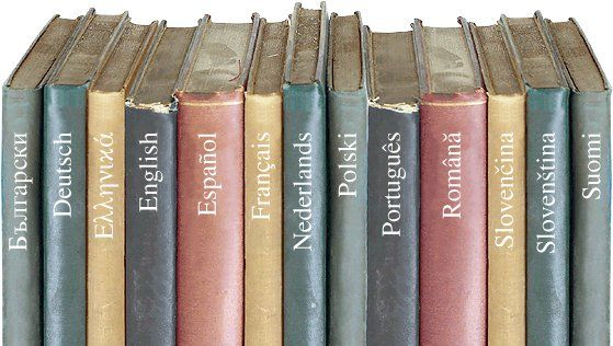 Aprender muitas línguas