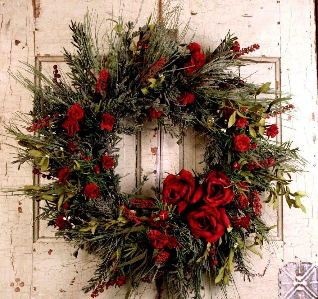 15 Christmas Wreath Ideas Christmas Wreaths Christmas