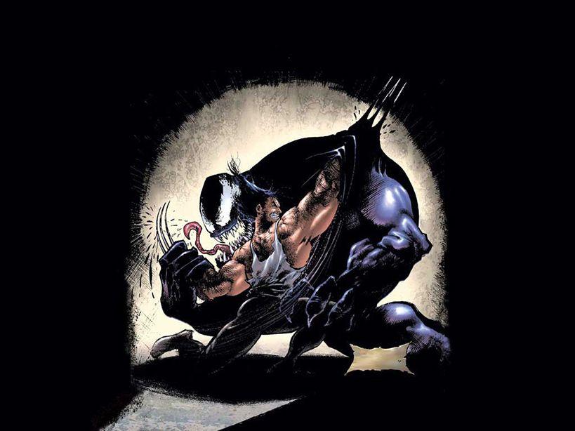 Venom & Wolverine  #comics #marvel #superhero