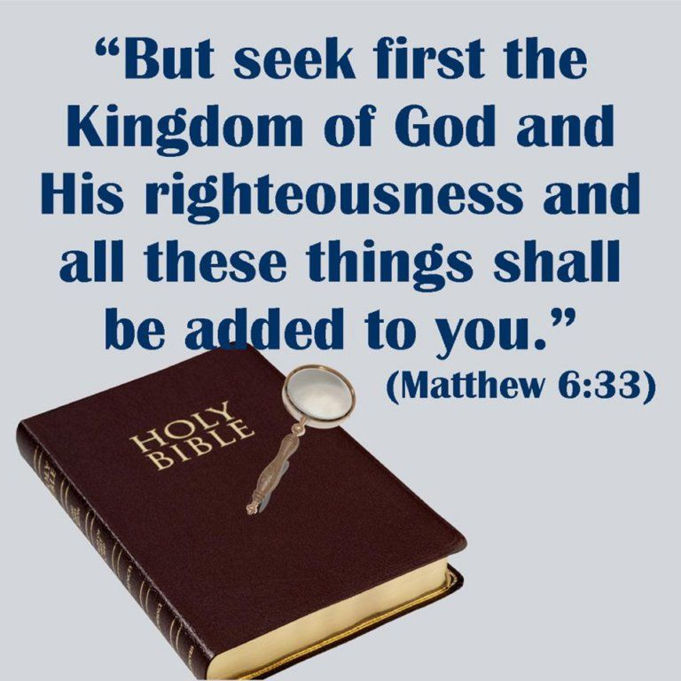 Mt 6:33   The kingdom of god, Holy bible, Matthew 6 33