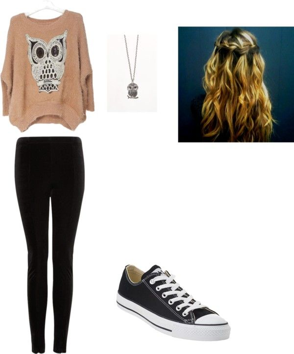 """""""casual"""" by erica-severino ❤ liked on Polyvore"""