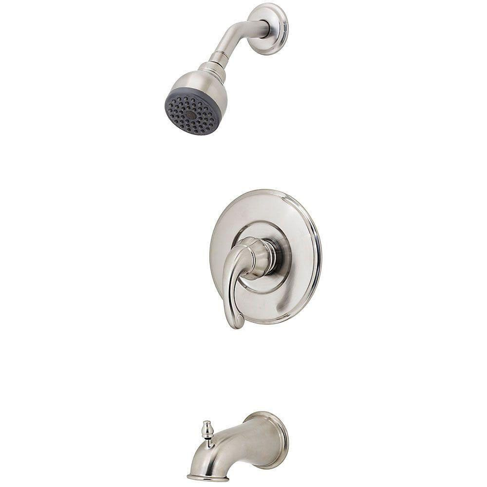 Price Pfister Treviso 1-Handle Tub and Shower Faucet Trim Kit in ...