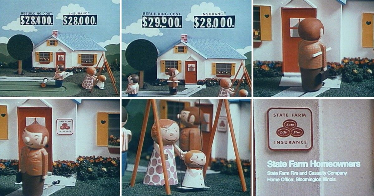 This home insurance commercial from 1973 encouraged