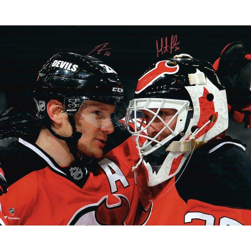 factory price 0ca49 6be92 Martin Brodeur & Patrik Elias New Jersey Devils Fanatics ...