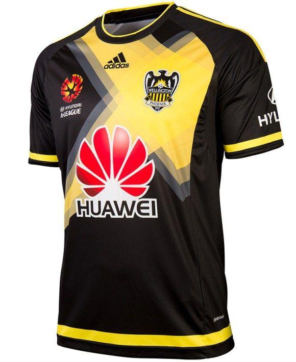 Wellington Phoenix Away Jersey 2015-2016  f8f755fe0