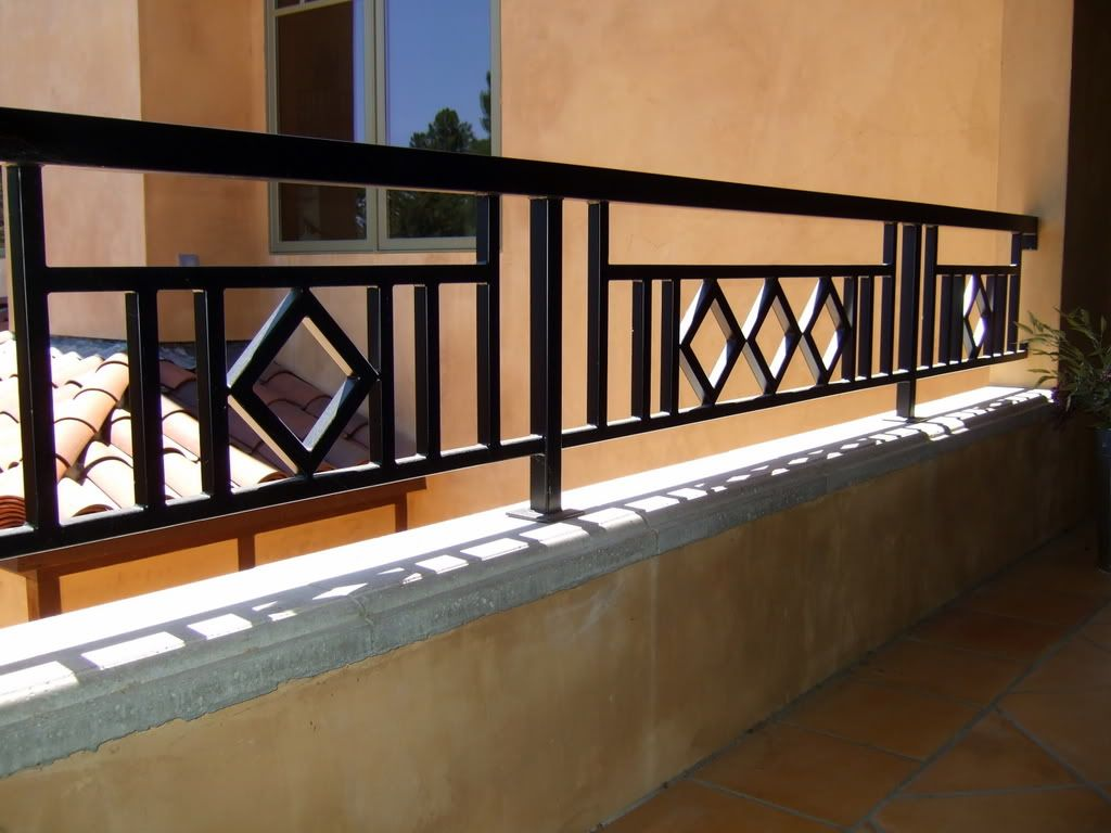 craftsman style metal balustrade for balcony - Google Search