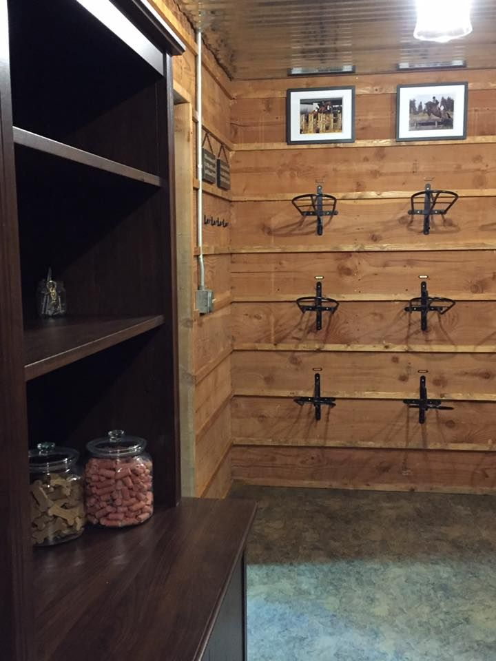 Tack Room Of Winning Time Training At Rocking B Farm In