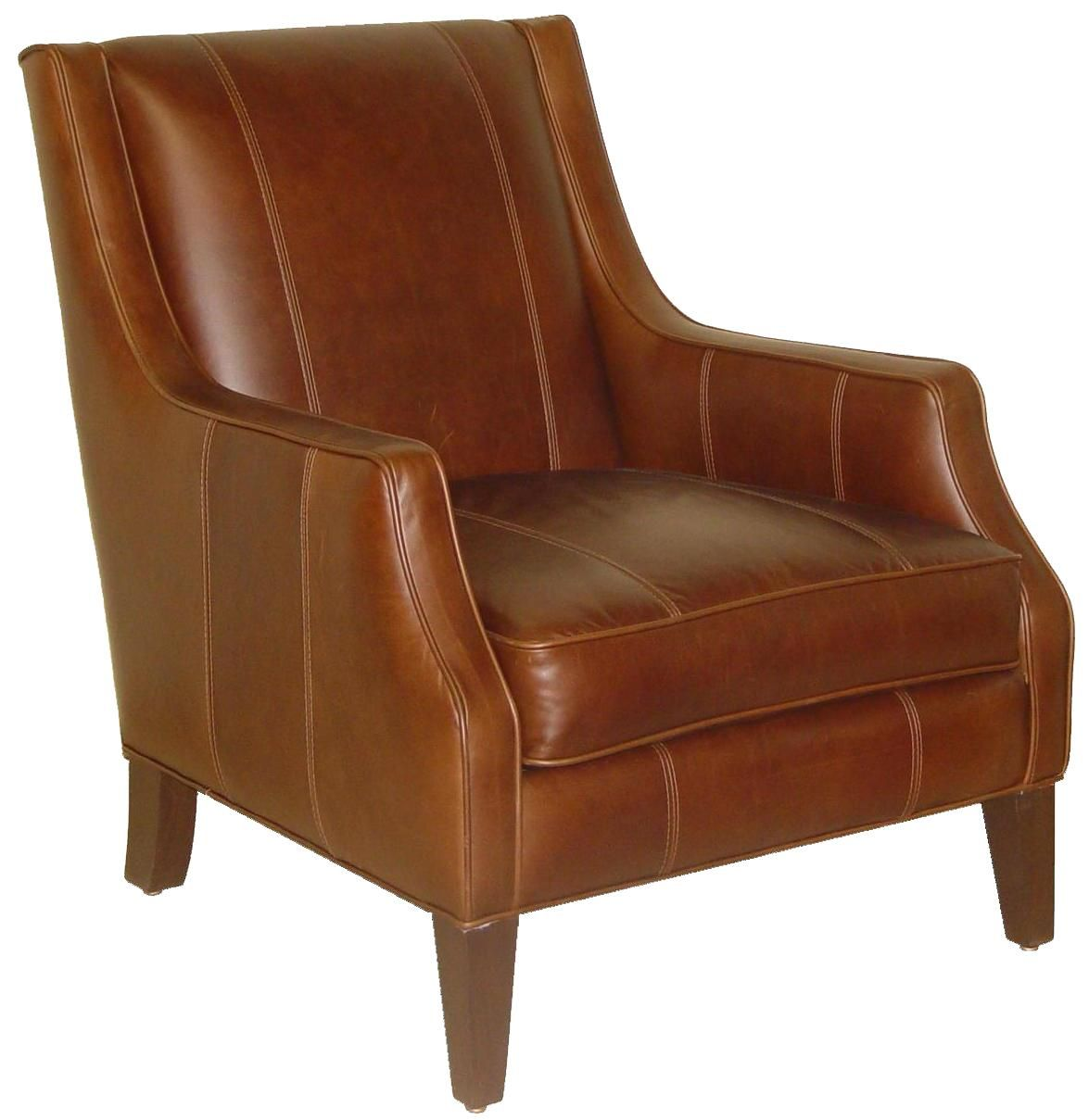 Best Accentuates Miles Leather Accent Chair By Jonathan Louis 400 x 300