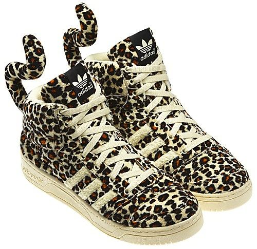 Adidas Jeremy Scott Leopard Black