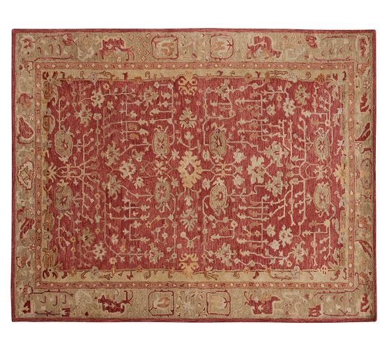 Pottery Barn Caleb Persian Style Area Rug NEW Beautiful In Home Garden Rugs Carpets