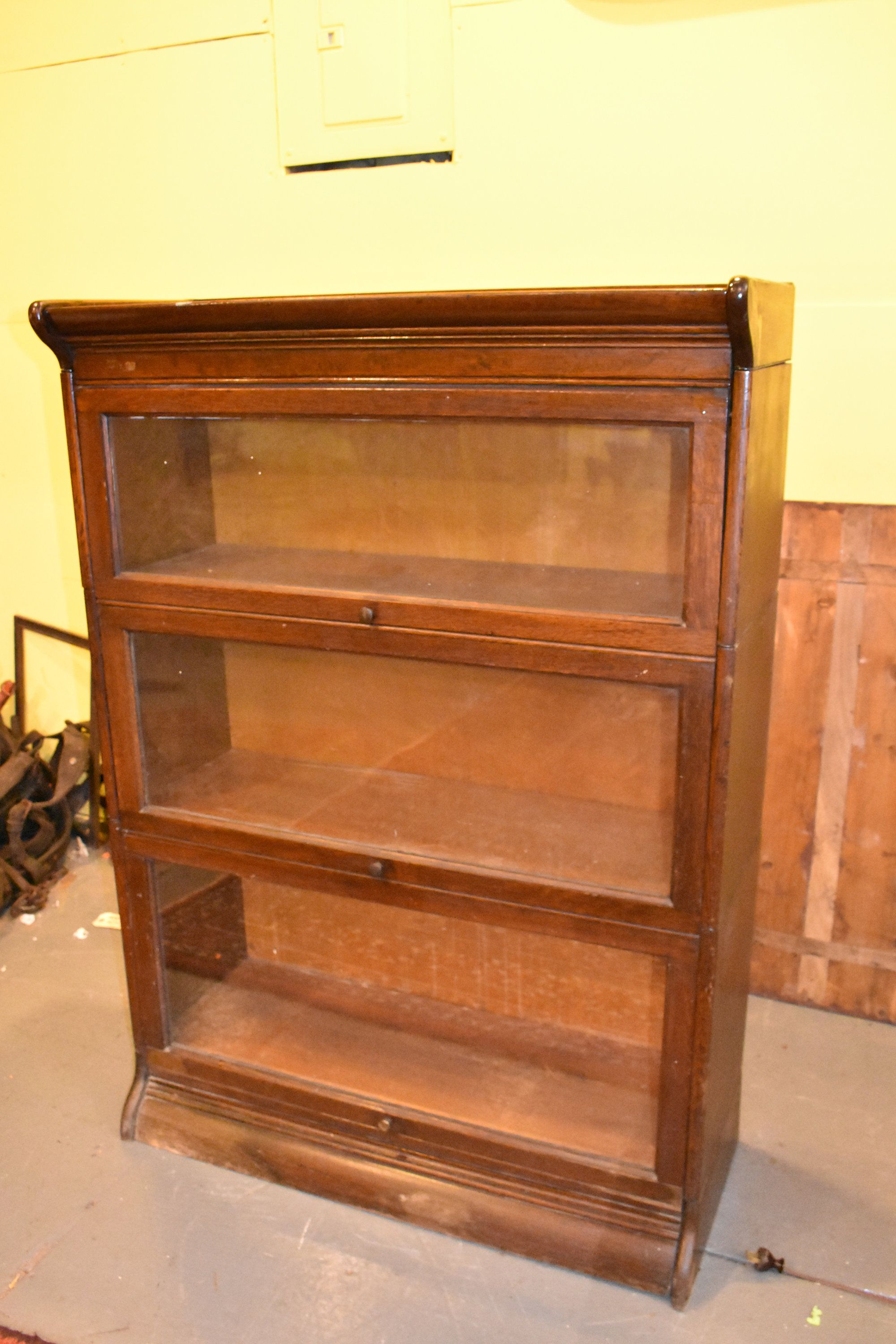Charmant Grand Rapids Antique Oak 3 Stack Barrister Lawyers Bookcase Display Cabinet  By TheGreenSceneAntique On Etsy