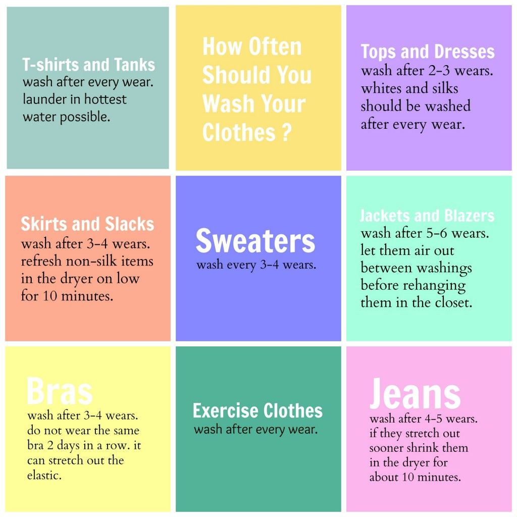 How Often Should You Wash Your Clothes? - Organize and Decorate Everything