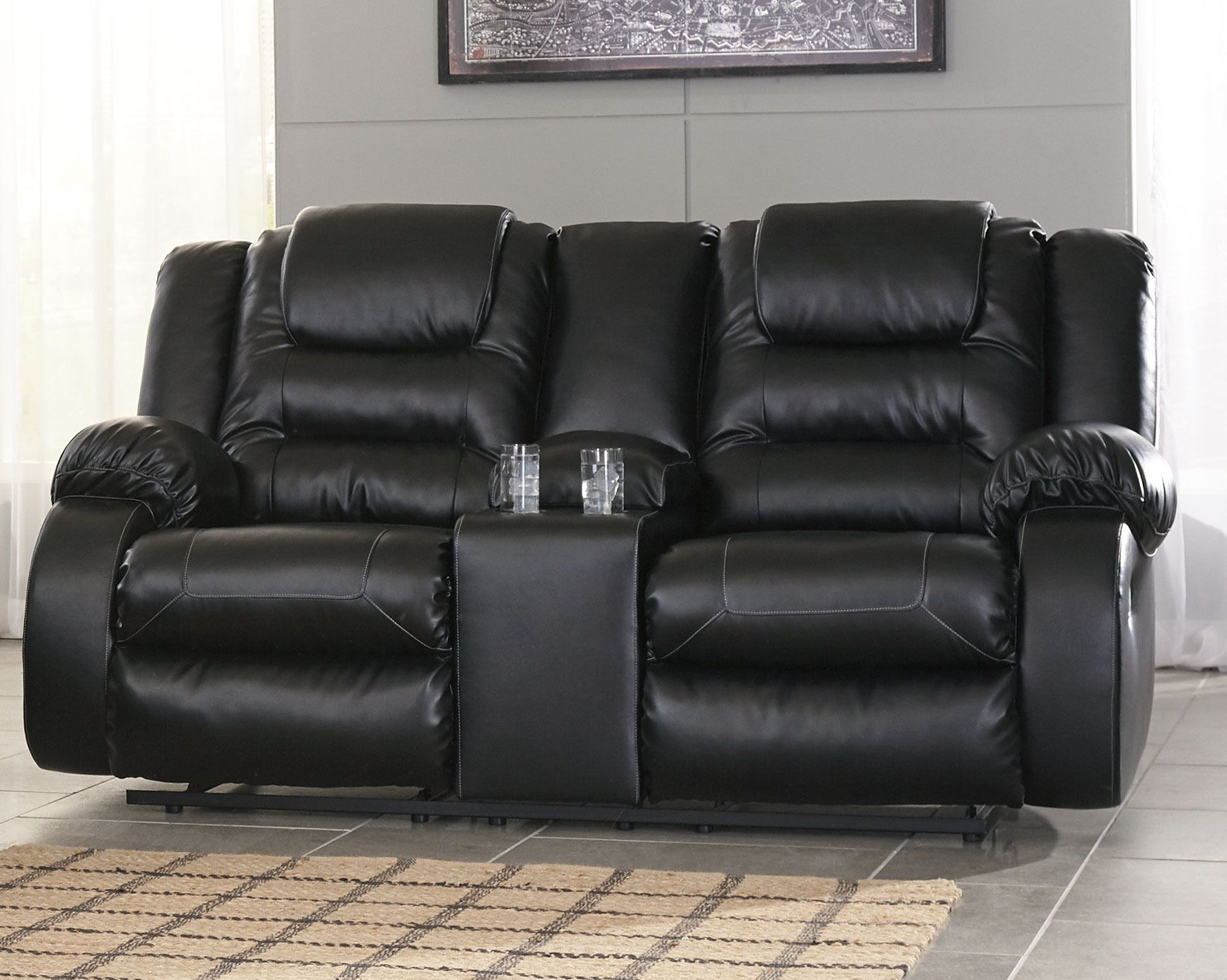 Vacherie Reclining Loveseat with Console in 2019 | Products ...