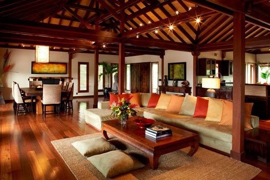 Bali Home Design Ideas: Tropical Architecture Group, Inc.