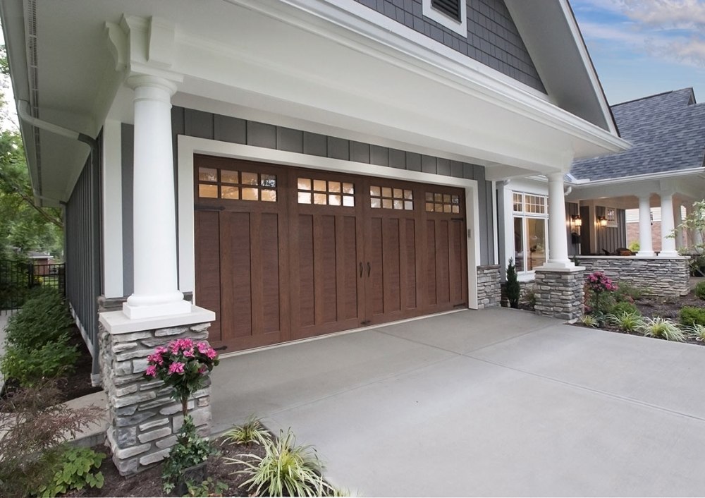 Wood Look Steel Garage Doors Clopay Canyon Ridge Ultra Grain In 2020 Garage Doors Garage Door Styles Wood Garage Doors