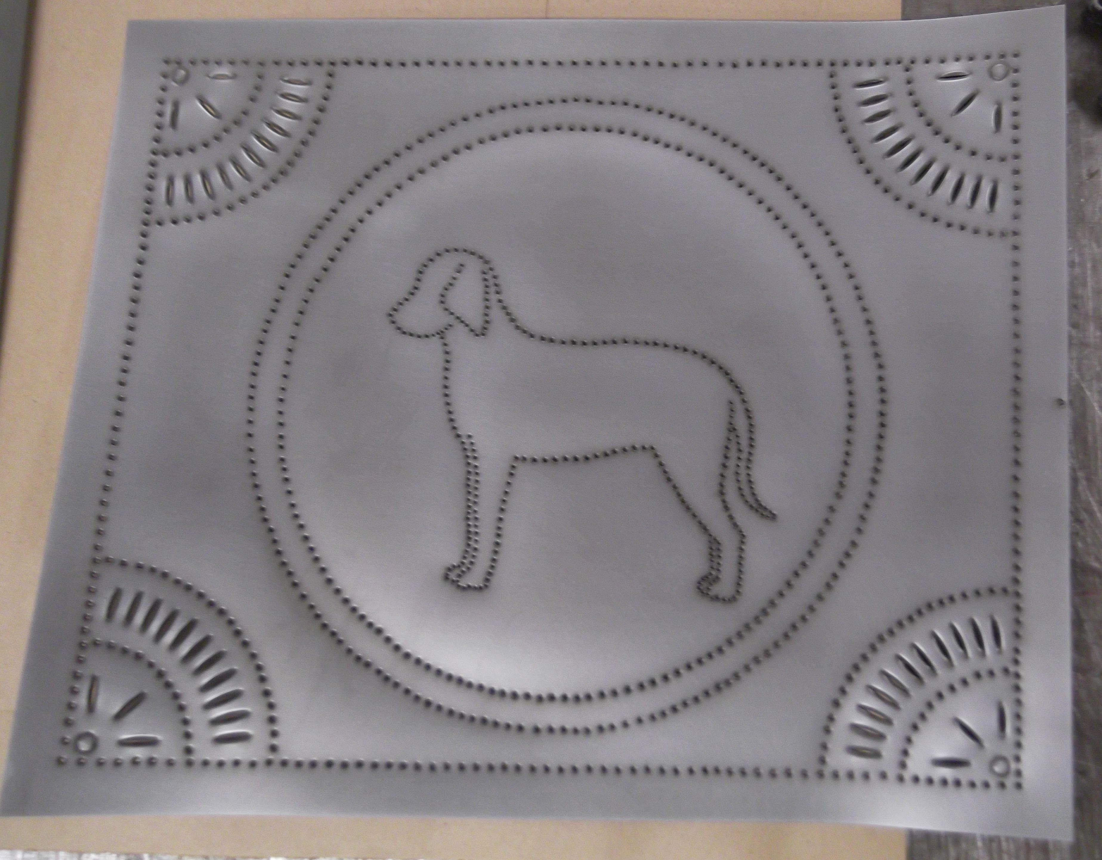decorative punched tin punched tin panels for cabinets Pinterest
