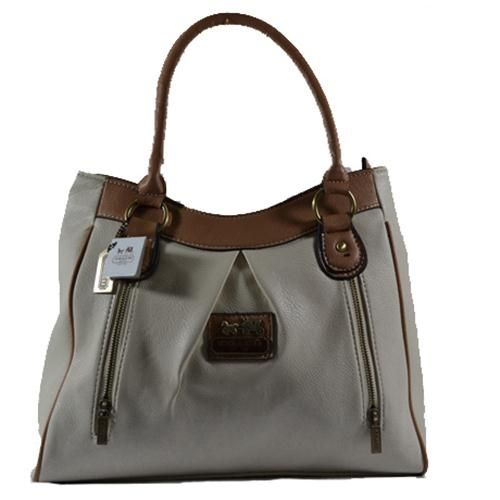 KnowInTheBox - High Quality Coach Madison Collection Grey Totes From China Lovee.