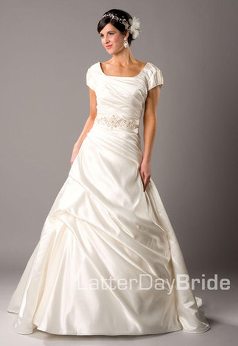 Cheap modest wedding dresses   Gorgeous Classy Elegant Wedding Dresses Design Inspirations