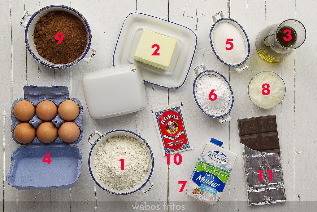Ingredientes b sicos para reposter a cursos reposter a - Ingredientes reposteria creativa ...