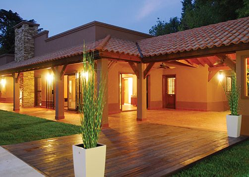 Perretta ocampo arquitectura casas estilo campo for Casa de campo arquitectura