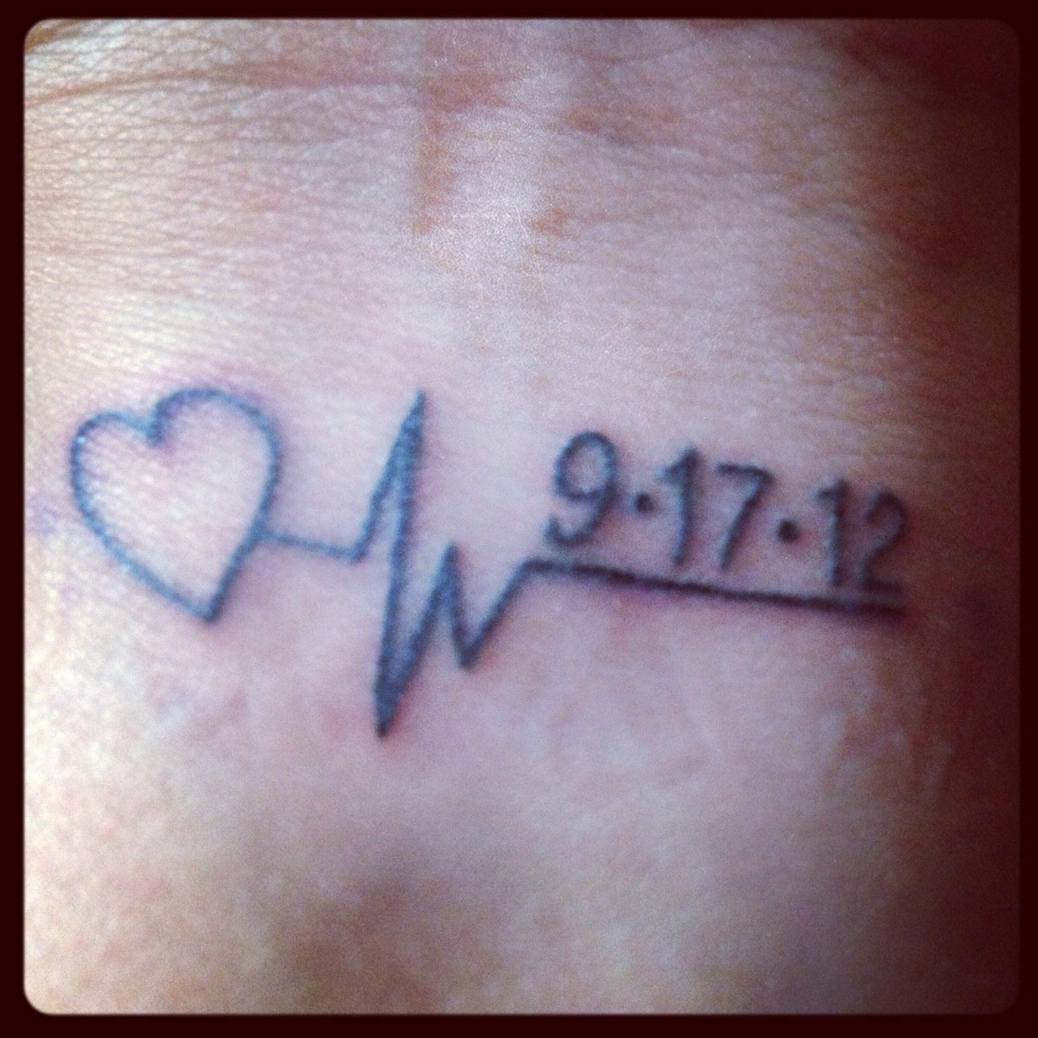 My Dad's Last Heartbeat And Date He
