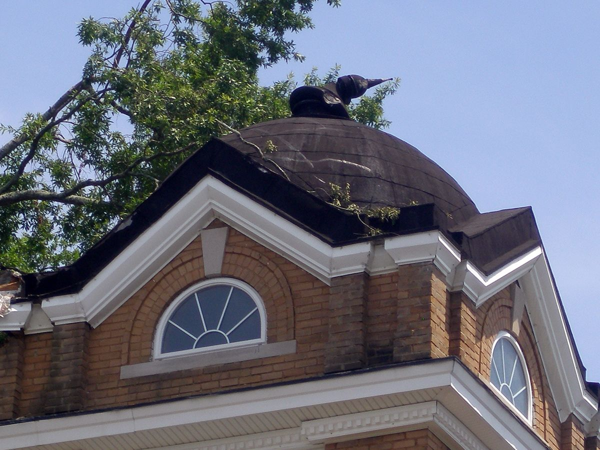 Copper Bell Tower Roof With Handmade Cross Quality Metal Roofing Copper Work Trim Cornice Fabrication In Upstate Sc Id Metal Roof Roofing Copper Work