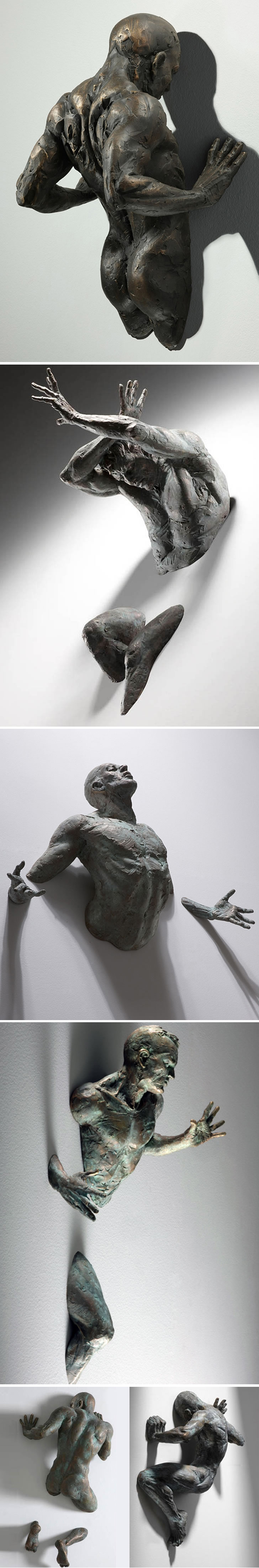 'Self-struggle' made by Matteo Pugliese  These are awesome.