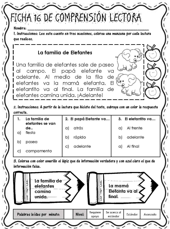 Lecturitas De Comrensión Página 19 Comprensión Lectora Lectura De Comprensión Lecturas Para Comprension Lectora