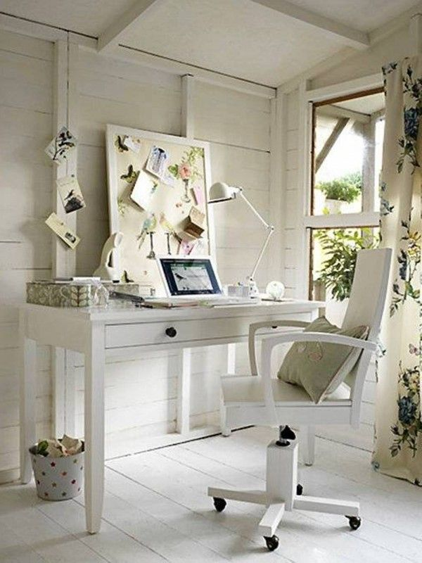 home office cottage style Cottage Home Office Work Style