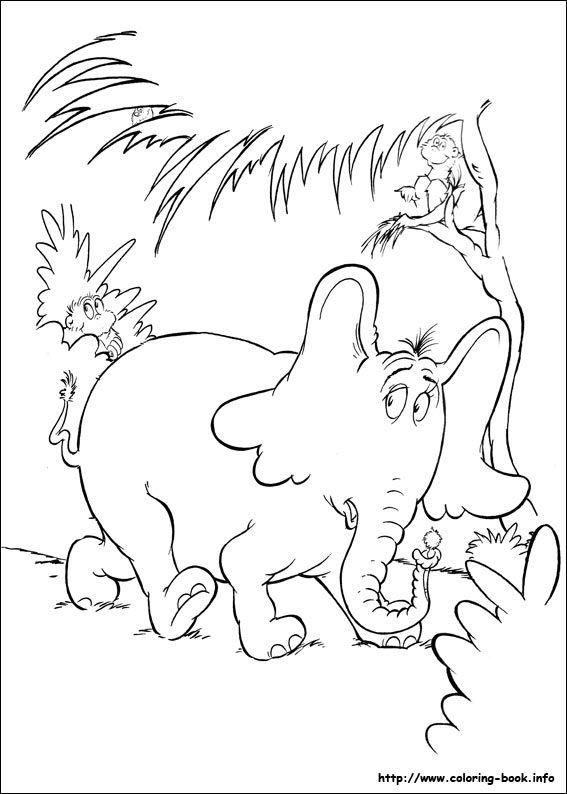 Horton Hears A Who Activity Sheets