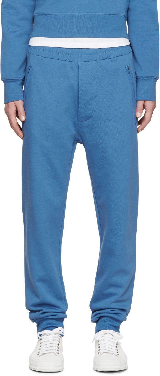 ACNE STUDIOS Blue Johna Lounge Pants. #acnestudios #cloth #pants