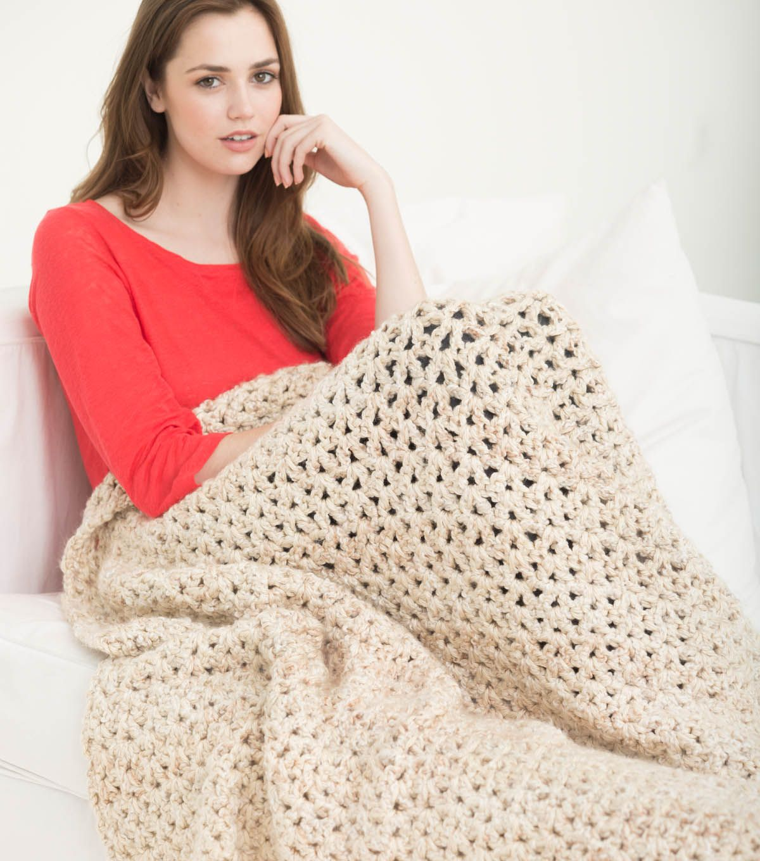 5 1/2 Hour Neutral Tone Afghan | crochet | Pinterest | Mantas de ...